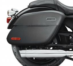 Harley-Davidson® Rigid Leather Saddlebags | Locking
