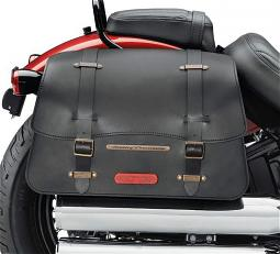 Harley-Davidson® H-D® Detachables™ Leather Saddlebag | Nostalgic Style | '18-Later Street Bob®, Low Rider & Softail Slim®