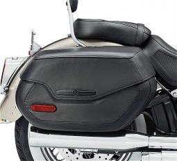 Harley-Davidson® Rigid Mount Saddlebag | '18-Later Softail® Deluxe Styling | Black