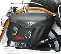 Harley-Davidson® Leather Saddlebag | Softail®