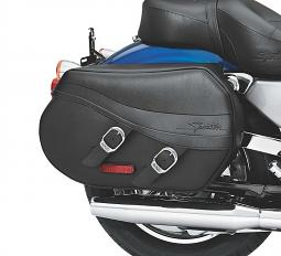 Harley-Davidson® Synthetic Leather Saddlebags | Sportster®