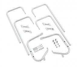 Harley-Davidson® Twin Rail Saddlebag Guard Kit | Chrome