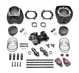 Harley-Davidson® Screamin' Eagle® Bolt On Stage IV Street Performance Kit | 117CI | Black Finish