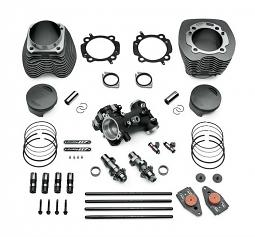 Harley-Davidson® Screamin' Eagle® Bolt On Stage IV Street Performance Kit | 117CI | Granite Finish