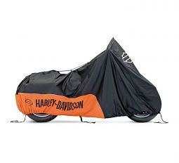 Harley-Davidson® Indoor Motorcycle Cover | Orange/Black | Large