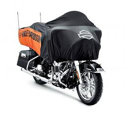 Harley-Davidson® Oasis Day Cover | Orange/Black | Touring