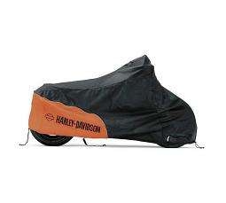 Harley-Davidson® Indoor Motorcycle Cover | Orange/Black | Small