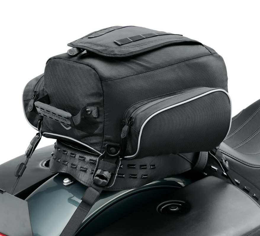 Harley-Davidson® Onyx™ Premium Luggage Tail Bag
