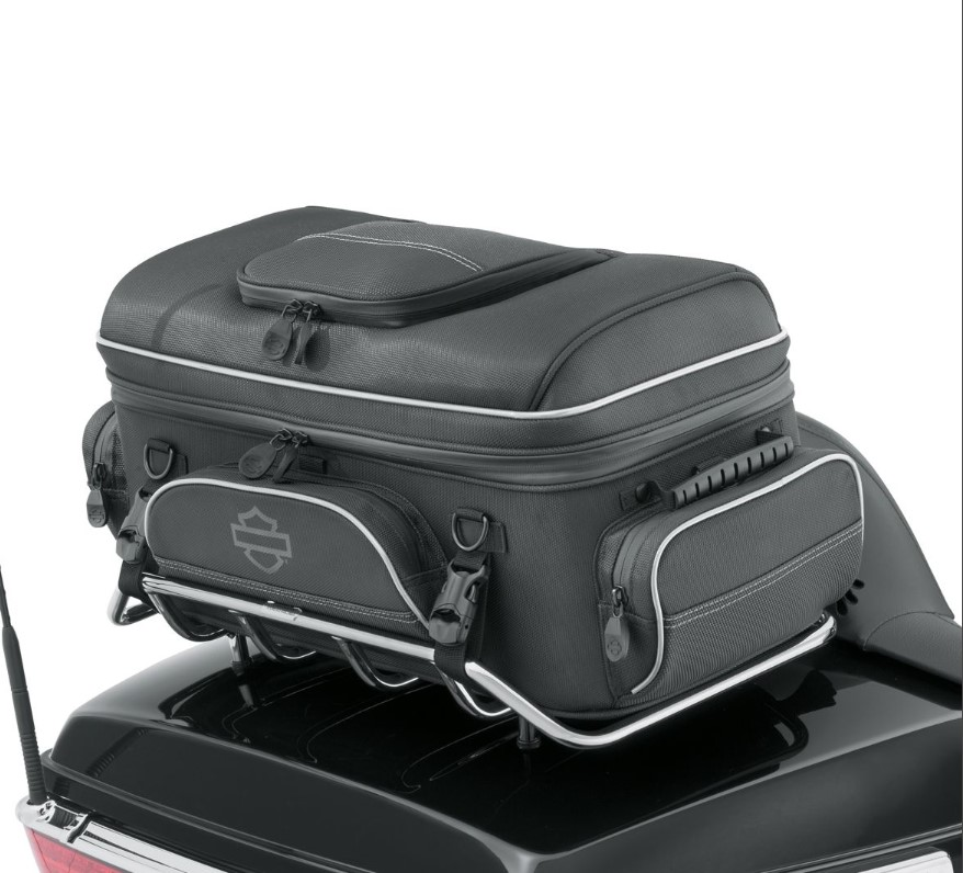 Harley-Davidson® Onyx™ Premium Collection Tour-Pak® Rack Bag