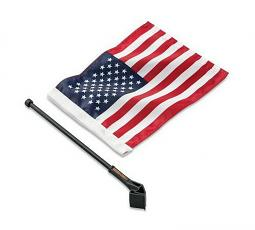 Harley-Davidson® American Flag Kit - Tour-Pak®/Hard Saddlebag Mount