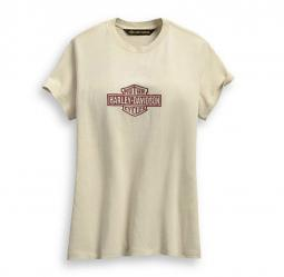 Harley-Davidson® Women's Embroidered Logo T-Shirt | Short Sleeves