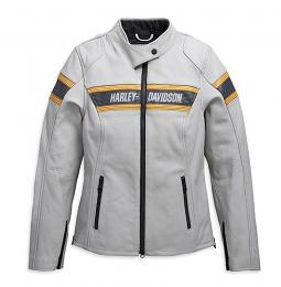 Harley-Davidson® Women's Sidari Leather Riding Jacket