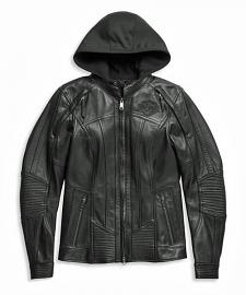 Harley-Davidson® Women's Auroral II 3-In-1 Riding Jacket | Removable Hoodie