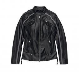 Harley-Davidson® Women's Hairpin Leather Riding Jacket | Superior Venting
