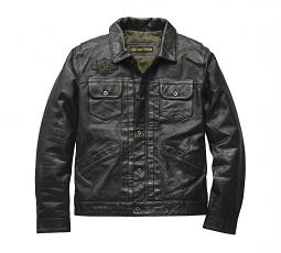 Harley-Davidson® Men's Digger Casual Leather Jacket | Slim Fit