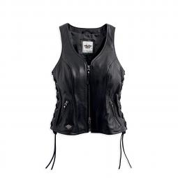 Harley-Davidson® Women's Avenue Leather Vest