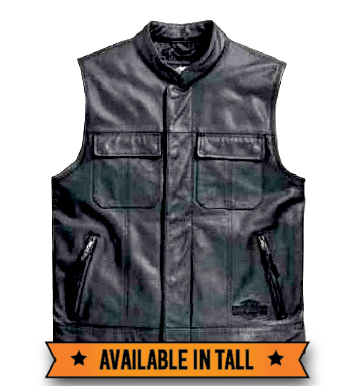 Harley-Davidson® Men's Foster Leather Vest