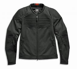 Harley-Davidson® Men's Brawler Mixed Media Riding Jacket | Mesh Air Flow Panels | Removable Windproof Liner