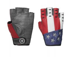 Harley-Davidson® Men's Patriot Fingerless Gloves
