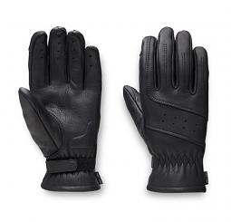 Harley-Davidson® Women's Perforated Leather Gloves | Touch-Screen Compatible