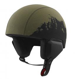 Harley-Davidson® Unisex Arterial Canvas B12 Half Helmet | Removable Liner | Bar & Shield® Patch
