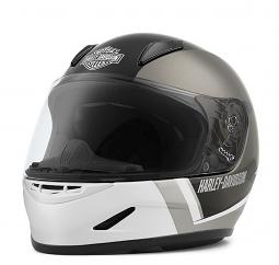Harley-Davidson® Kids' Killian H30 Full-Face Helmet | White | Channel Vent System