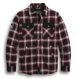 Harley-Davidson® Men's Arterial Riding Shirt Jacket | Abrasion Resistant | Yarn Dyed | Slim Fit