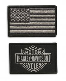 Harley-Davidson® B12 Replacement Patch Set | 2-Piece Set