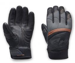 Harley-Davidson® Men's Killian Mixed Media Gloves | Touch-Screen Compatible