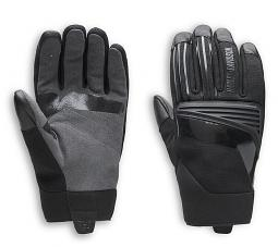 Harley-Davidson® Men's Sidari Mixed Media Gloves | Touch-Screen Compatible