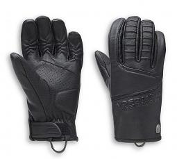 Harley-Davidson® Men's Ozello Perforated Leather Riding Gloves | CoolCore® Lining | Touch-Screen Compatible