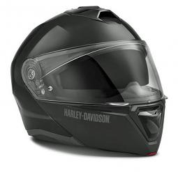 Harley-Davidson® Unisex Capstone Sun Shield II H31 Modular Helmet | Gloss Black
