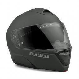 Harley-Davidson® Unisex Capstone Sun Shield II H31 Modular Helmet | Matte Black