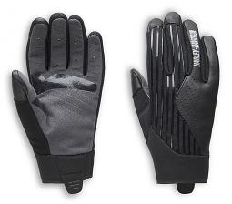Harley-Davidson® Women's Sidari Mixed Media Gloves | Touch-Screen Compatible