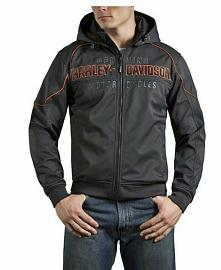 Harley-Davidson® Men's Windproof Idyll Soft-Shell Jacket | Removable Hood