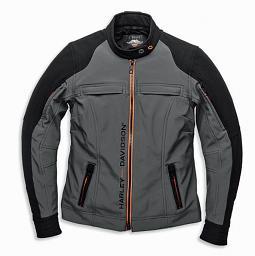 Harley-Davidson® Women's New Horizon Windproof Riding Jacket | Soft Shell