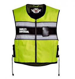 Harley-Davidson® Men's Yellow Hi-Vis Vest