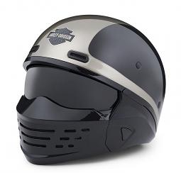 Harley-Davidson® Unisex Sport Glide™ X07 Half Helmet | 3-In-1 Options
