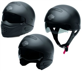 Harley-Davidson® Unisex Pilot 3-In-1 X04 Helmet | Wear Three Ways