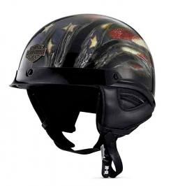 Harley-Davidson® Men's Aura Ultra-Light Half Helmet