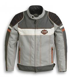 Harley-Davidson® Kids' Colorblock Textile Riding Jacket