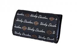 Harley-Davidson® Signature Deluxe Toiletry Kit | Fully Lined