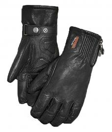 Harley-Davidson® Women's Jayden Under-Cuff Gauntlet Gloves | Perforated Leather