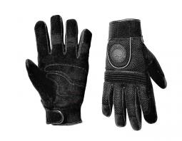Harley-Davidson® Men's Skull Full-Finger Mesh Gloves