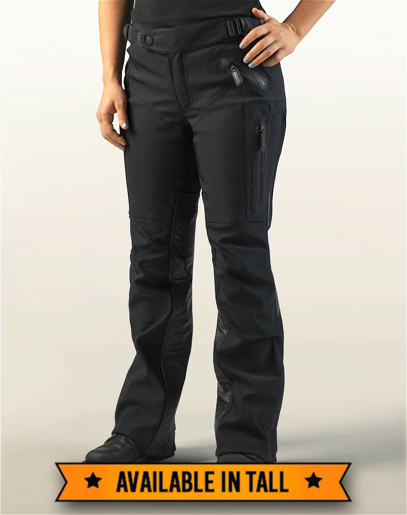 Harley-Davidson® Women's FXRG® Waterproof Overpant | Leather Heat Shields | Sewn-in Body Armor