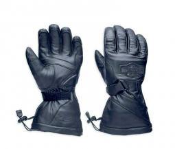 Harley-Davidson® Men's Circuit Gauntlet Gloves | Waterproof Leather