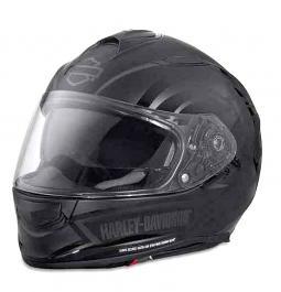 Harley-Davidson® Unisex Frill AirFit X03 Full-Face Helmet | Sun Shield | Matte Black