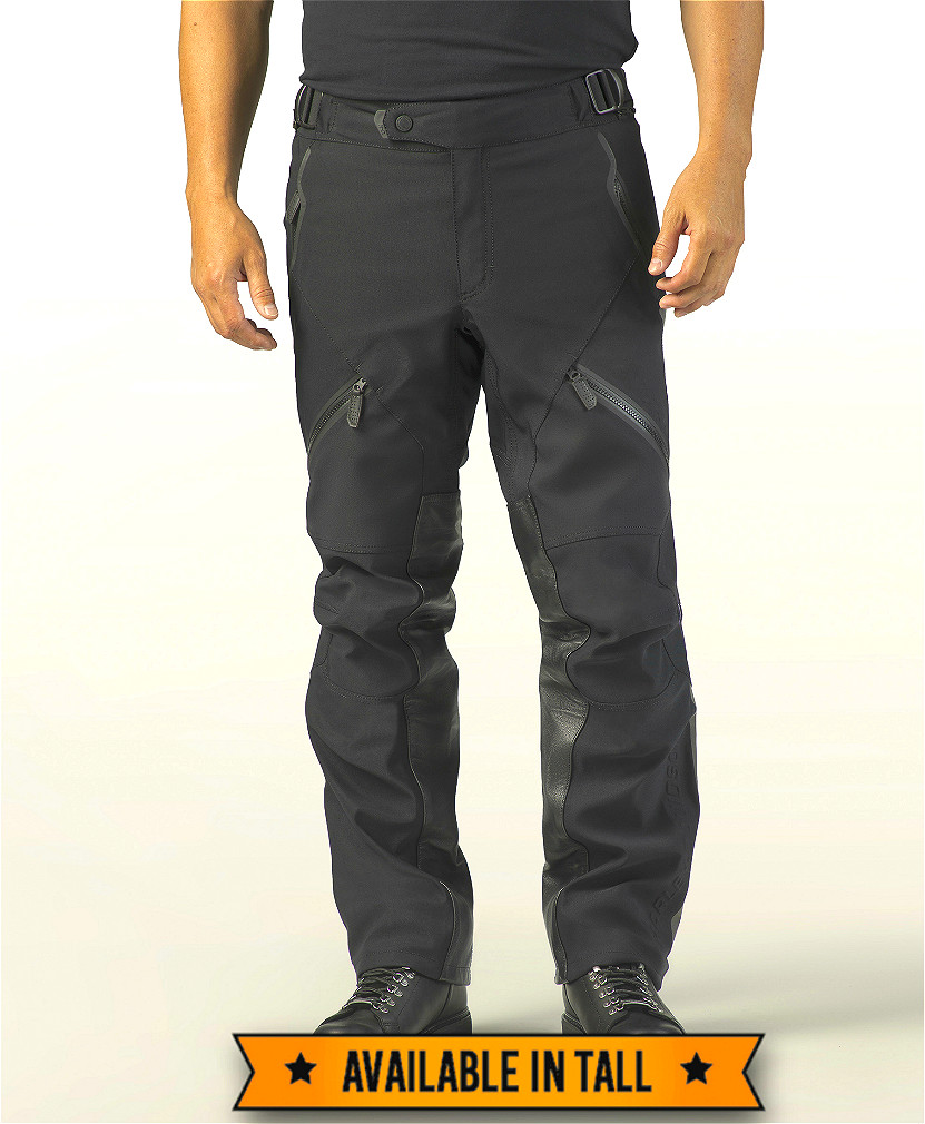 Harley-Davidson® Men's FXRG® Waterproof Overpant | Leather Heat Shields | Sewn-in Body Armor
