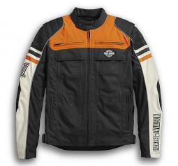 Harley-Davidson® Men's Metonga Switchback Lite Textile Riding Jacket | CoolCore® Technology