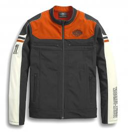 Harley-Davidson® Men's Soft Shell Colorblock Jacket | Four-Way Stretch
